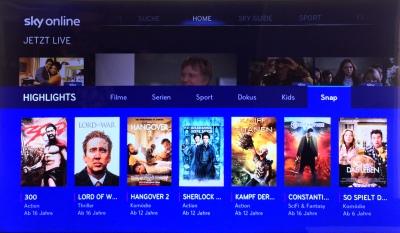 Sky Online ist eine Art Mischung aus Linearem Pay-TV und Abruf-Videothek. Die Preise wurden immerhin jüngst deutlich gesenkt.