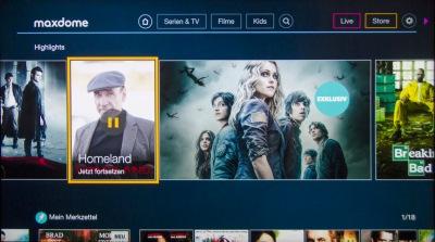 Maidome bietet gute TV-Serien und auch viele Filme. Die Geschäftsbedingungen sind aber noch immer recht